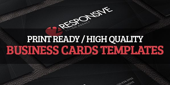 12 High Quality Business Cards Templates #businesscards #businesscardstemplates #templates