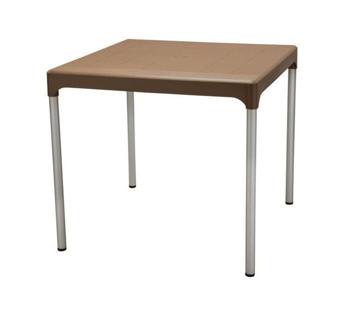 Contour 80cm X 80cm Chelsea Square Table Resin Tables Resin