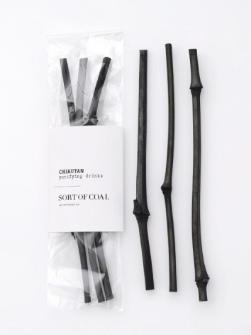 Chikutan sticks are popular in high-end Japanese bars. Use it to stir your beverages and the charcoal will absorb impurities in alcohol or tea for a pure taste. It's a great water purifier. It looks black, but is called white charcoal because of its purifying ability and white shine. The purifying ability of White Charcoal is a natural phenomenon known and used in Japan for several centuries. These White Charcoal Chicutan sticks are made from Japanese bamboo.