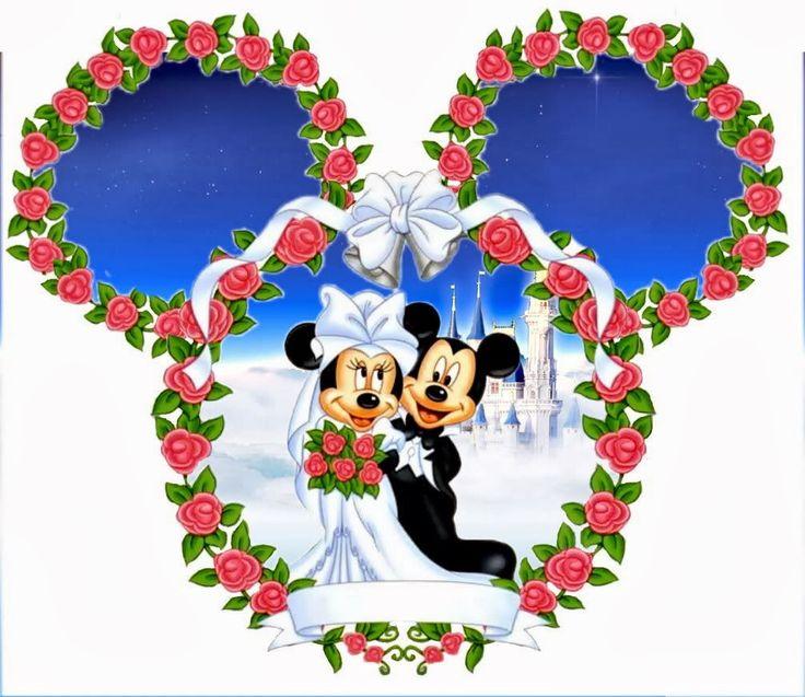 42 best ~ ❤ Mickey & Minnie Wedding ~ ❤ images on Pinterest ...