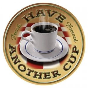 ♥Tins Signs, Coffe Time, Metals Signs, Coffe Signs, Cups Of Coffe, Coffe Cups, Coffe Breaking, Tins Decor, Signs Tins