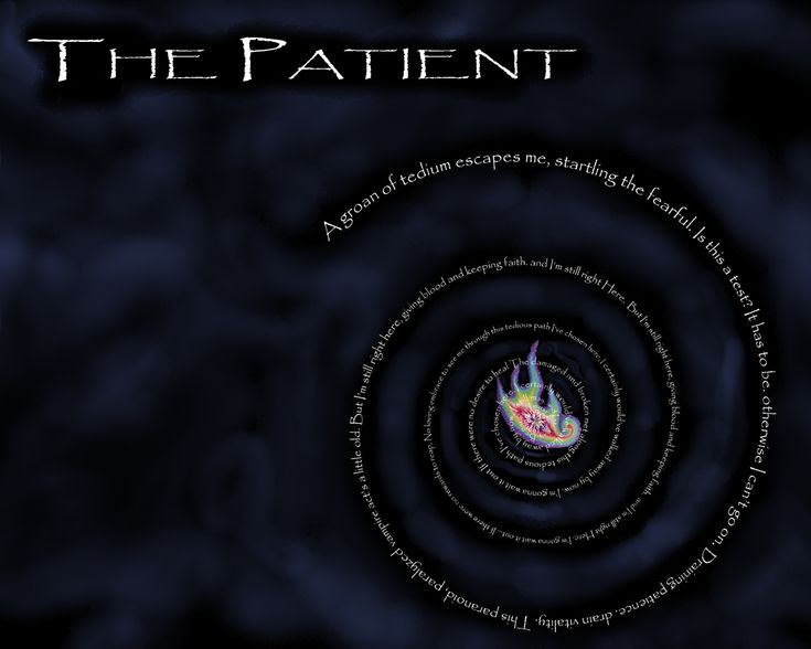 Patient... LOVE this song