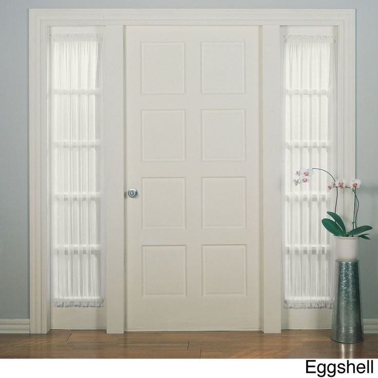 for side panel of front door front door with sidelight curtains