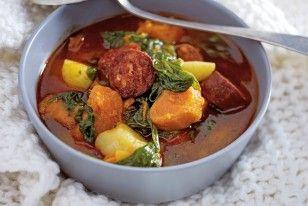Das Rezept für Portugiesische Kartoffelsuppe mit Chorizo und weitere kostenlose Rezepte auf LECKER.de