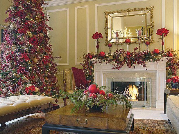 elegant christmas decorations | christmas living rooms