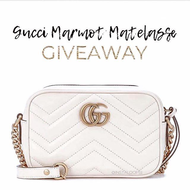 WIN a Gucci Marmot Matelasse! Or Cash sent via PayPal goods
