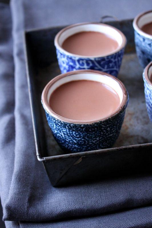 Petits pots de crème au chocolat ultra crémeux