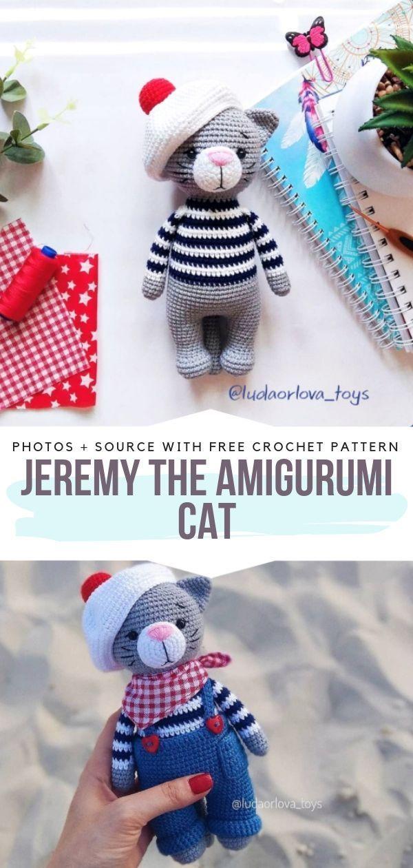 Cat Amigurumi Tutorial | Beginner Crochet | Kitty Mod Free Pattern ... | 1260x600