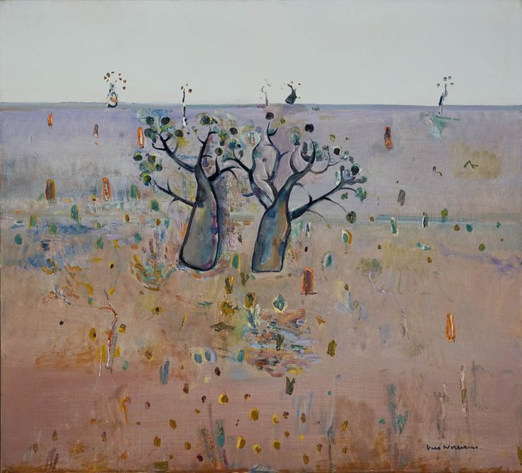 Boab Trees by Fred Williams