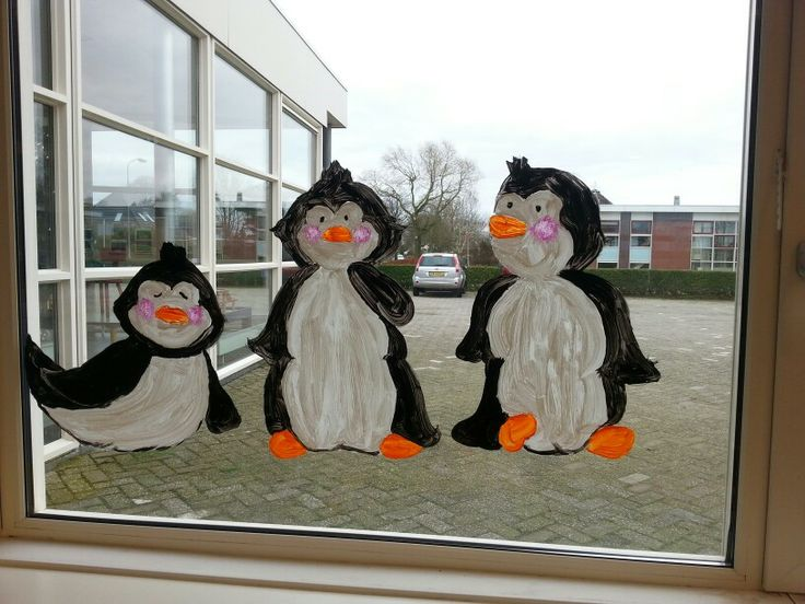 thema winter pinguins