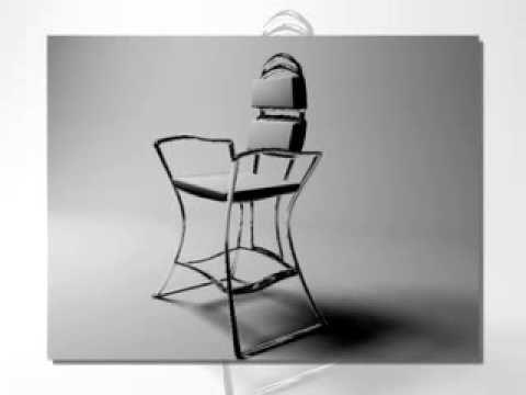 Стул, дизайн стула. Стул для интерьера, стул для комнаты, дизайн стула д...
