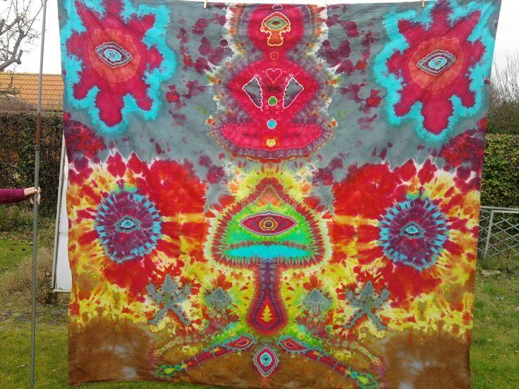 Tie Dye Tapestries Tie Dye Tapestry Trippy Tapestry