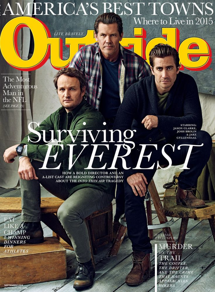 Joe Pugliese Explores the Cast of Everest for Outside Magazine