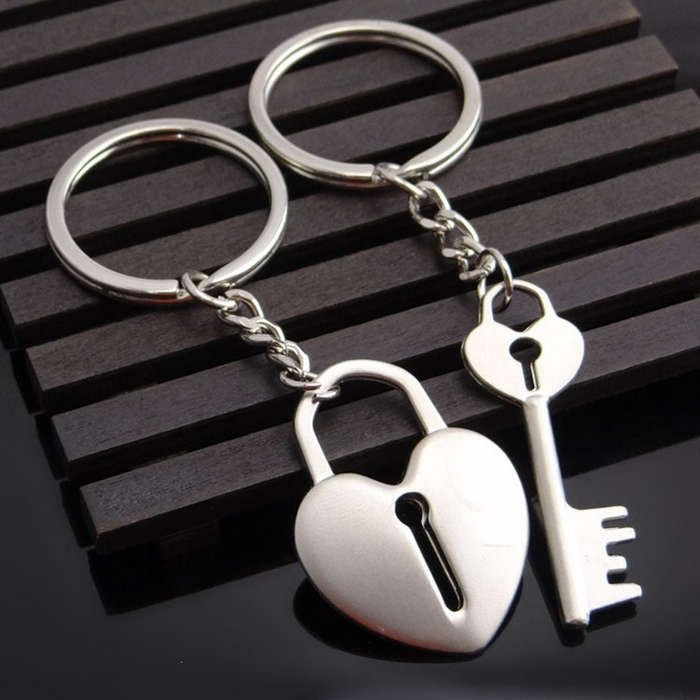 Time To Source Smarter Heart Keychain Keychain Couples Keychains