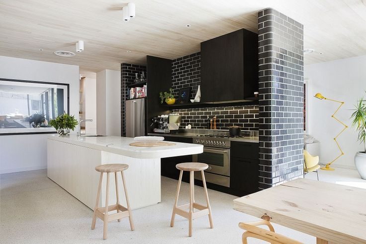 modern residence 96 Surprising Edwardian Building Renovation in Australia: The Brick House