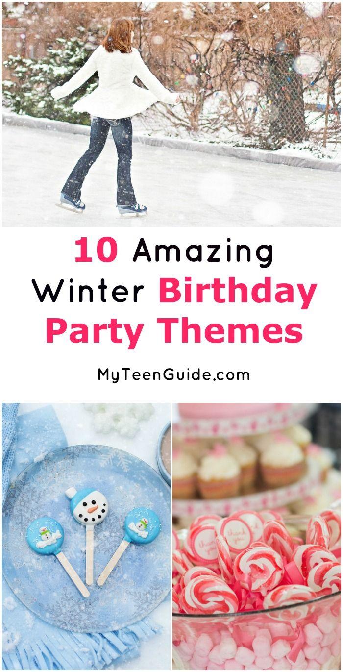 Teenage Birthday Party Ideas In The Winter لم يسبق له مثيل الصور
