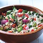 Mediterranean Barley Rice Salad ... one of my favourite Summer salads