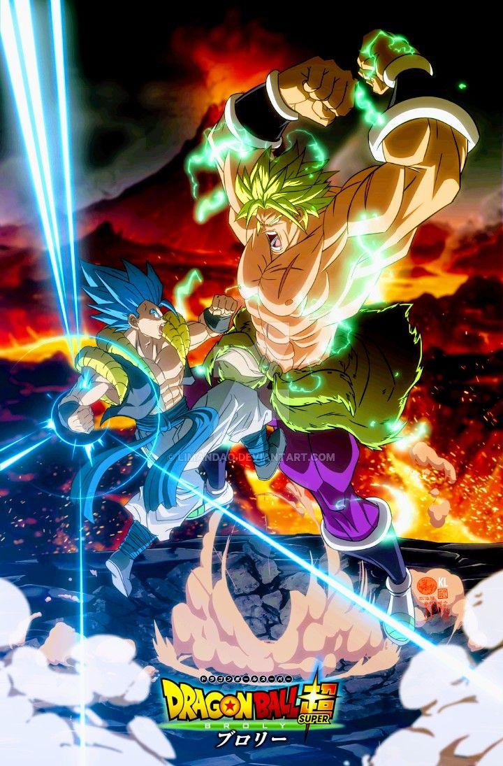 Gogeta Vs Broly Dragon Ball Super Anime Dragon Ball Super Dragon Ball Goku Anime Dragon Ball