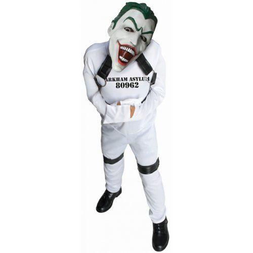 DC Super Villain Collection Joker Straight Jacket Costume Large @ niftywarehouse.com #NiftyWarehouse #Batman #DC #Comics #ComicBooks