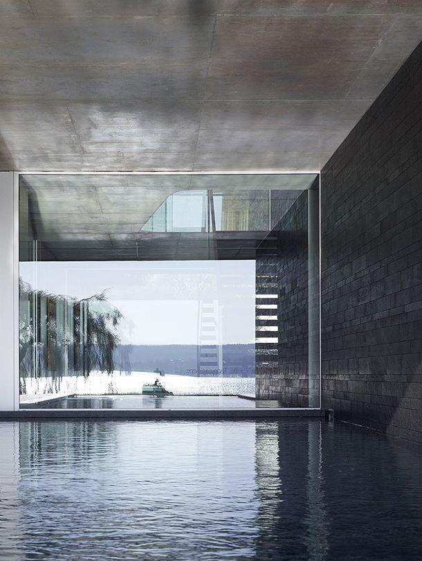 Minimalismo flexible junto al lago Constanza, por el estudio (se)arch | Interiores Minimalistas