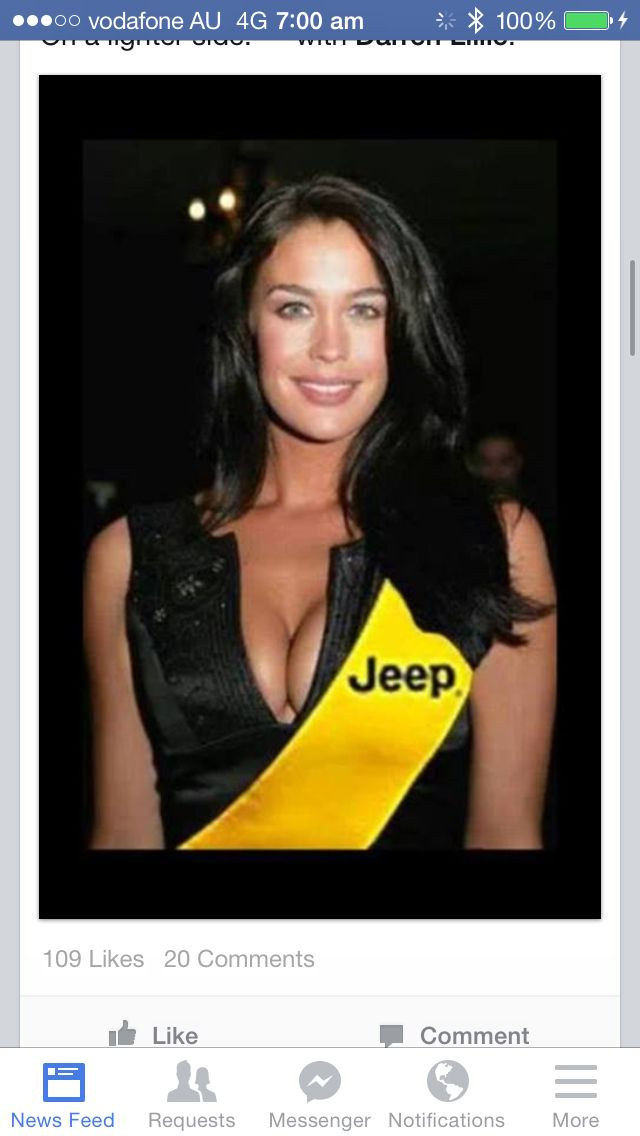 Megan Gale, our best new supporter!!