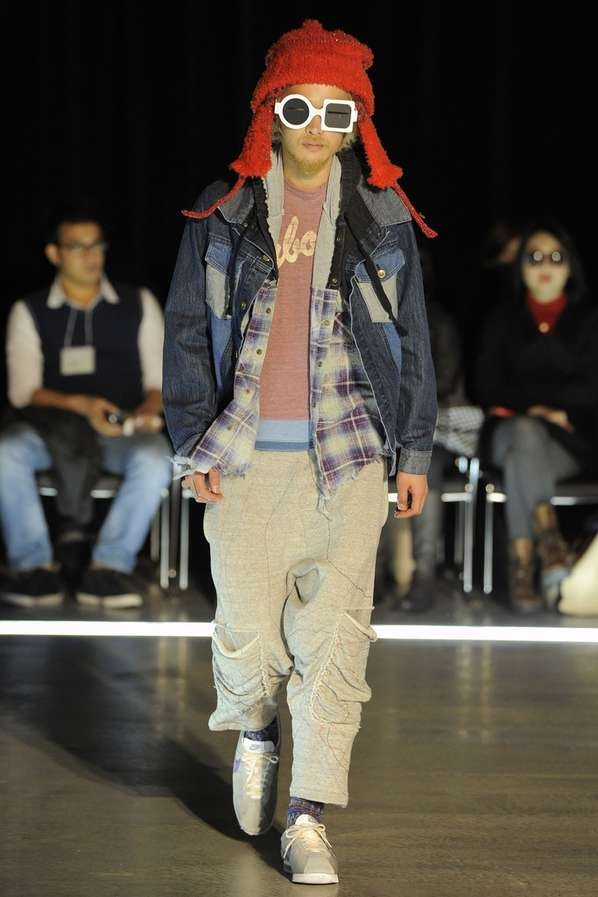 Nozomi Ishiguro Tambourine Fall 2012 collection is the latest line from the Japanese designeGrunge Runway, Eccentric Grunge, Carefree 90S, 2012 Collection, Ishiguro, 90S Aesthetic, Fall 2012, Men Sunglasses, Stylish Sunglasses