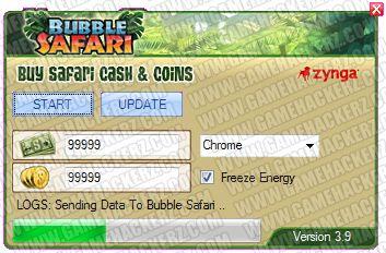 New Hack for Bubble Safari
