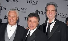 Tommy DeVito, Frankie Valli and Bob Gaudio