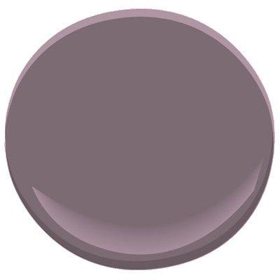 bonne nuit AF-635 Paint - Benjamin Moore bonne nuit Paint Colour Details. Master bedroom colors.