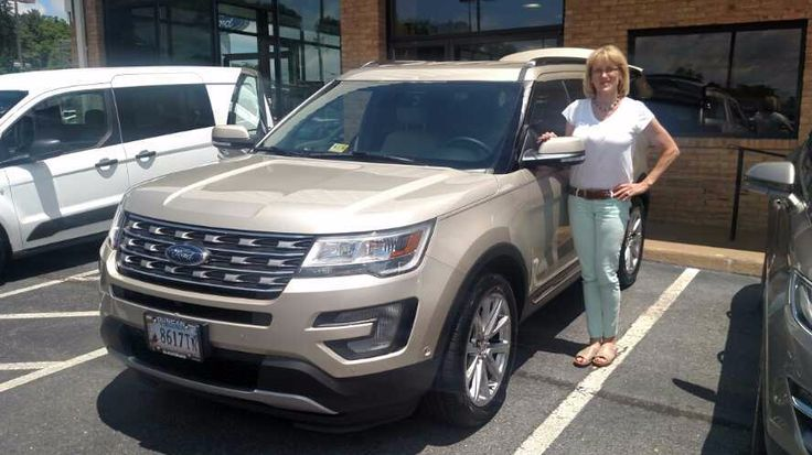 Thank you and congratulations Joanne Dean Geller on the purchase of your 2017 Ford Explorer Limited from Steve Price at Duncan Ford Lincoln Mazda in Blacksburg Virginia! I appreciate your business . . . . again! #DuncanFLM