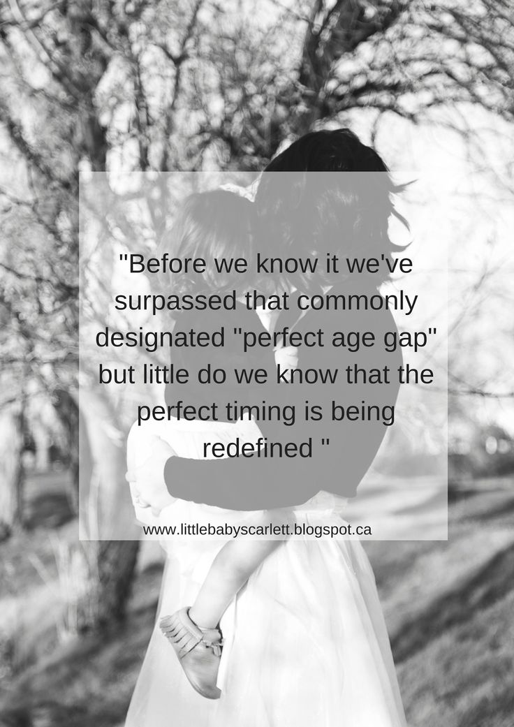 There is No Perfect Age Gap... i love this <3
