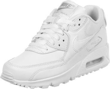 nike air max 90 youth gs schoenen grijs zwart