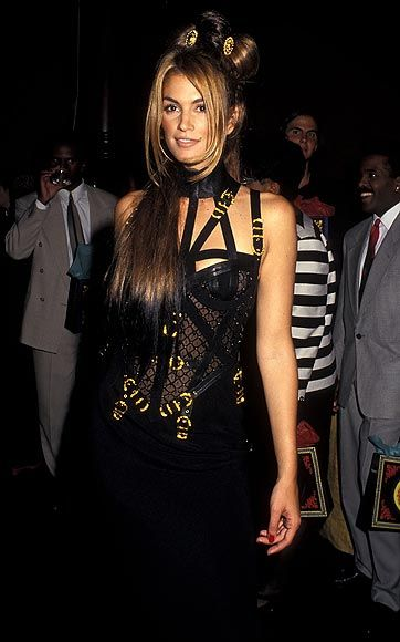 Cindy crawford, Gianni versace and Versace on Pinterest