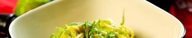 Creamy Avocado-Lime Pasta