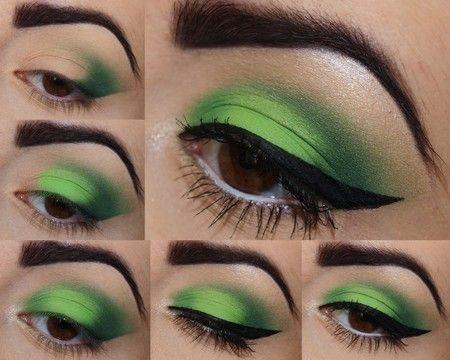 Green Lantern   #makeup
