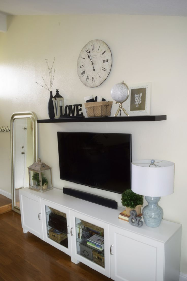 Best 25 floating tv stand ikea ideas on pinterest ikea for Floating entertainment center ikea
