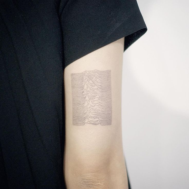 Joy Division tattoo by @tattooist_doy