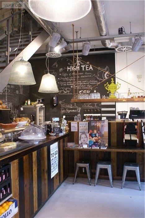 Shop & cafe - Amsterdam, Netherlands