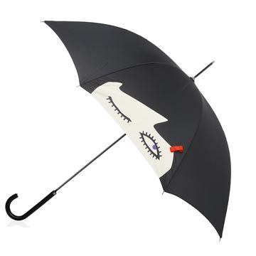 Eliza doll face umbrella by lulu guinness