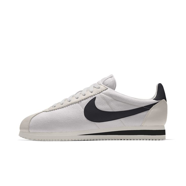 Special Sales Men Nike Cortez Oxford Cloth Shoes Blue White sRMbbcUW