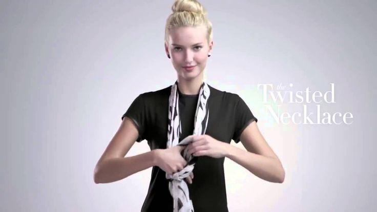Como ponerse un pañuelo.. 4 pañuelos 16 maneras