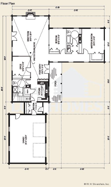 116 best Standard Floor Plans From Real Log Homes images on ...