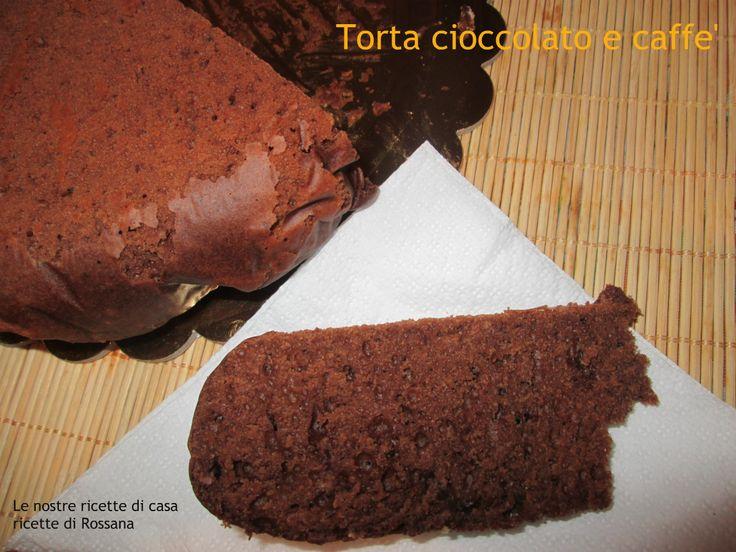 Torta cioccolato e caffè, pronta in 40 minuti
