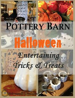 pottery barn halloween entertaining tricks and treats on bebeandjcom