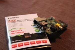 Raspberry Pi with Edimax Wifi Adapter how to trun a raspberry pi into a wifi Router