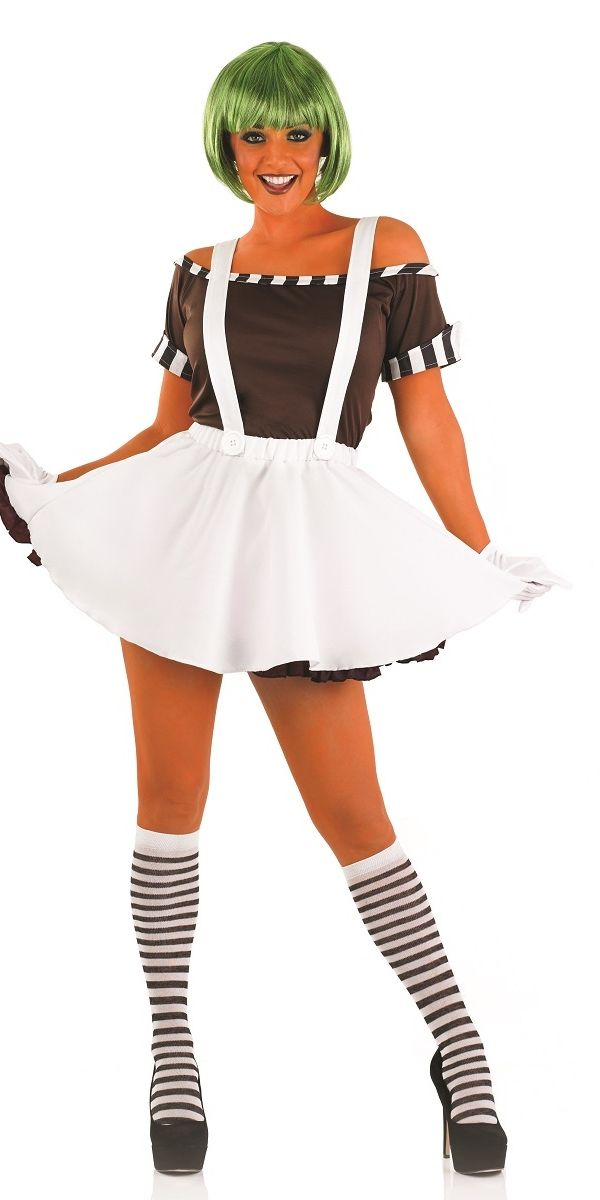 ladies oompa loompa costume - Google Search