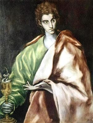 El Greco - Apostle St John the Evangelist 1610-14