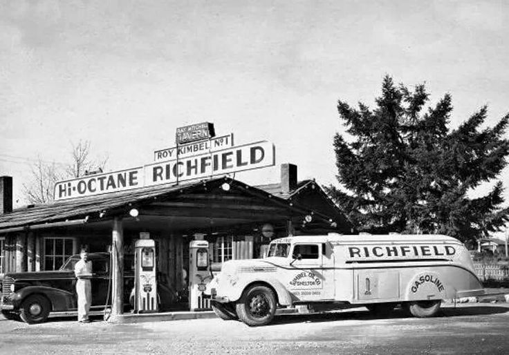 194 Best Images About Vintage Gas Stations On Pinterest