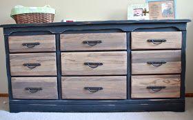 mimiberry creations: Chalkboard Dresser