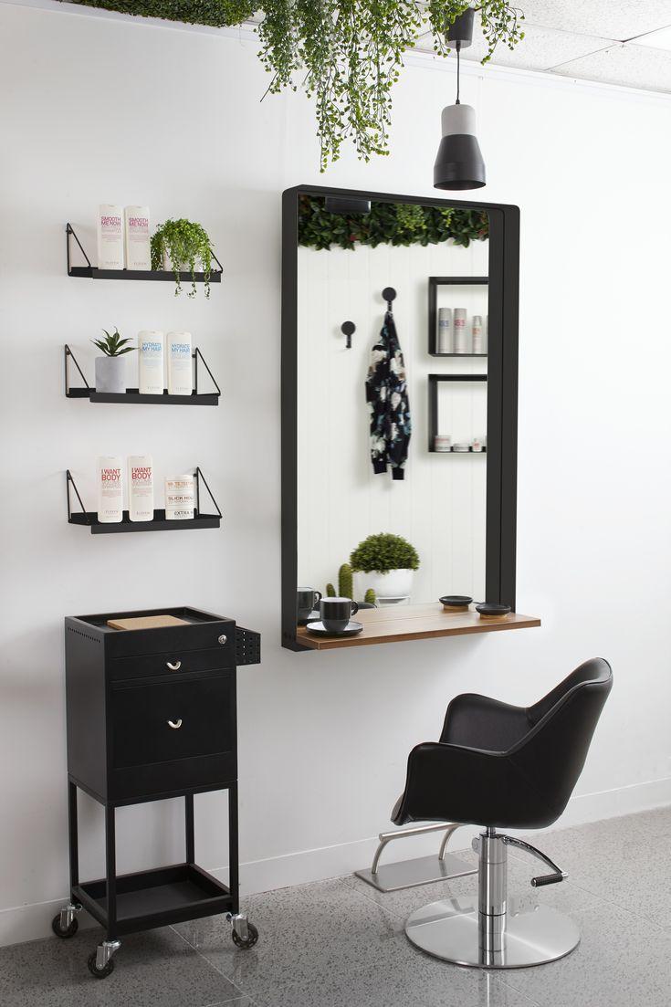 Salon Interior Design Ideas Urban Jungle Salon Furniture Collection By Comfortel Salon Interior Design Salon Interior Hair Salon Interior